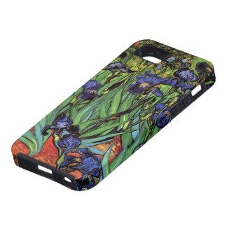 Íris de Van Gogh, belas artes do jardim do vintage Capa Para iPhone 5