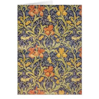 """""""Íris"""" por William Morris Cartão"""