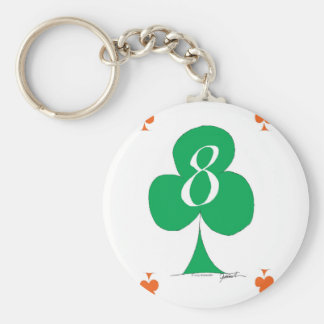 Irlandês afortunado 8 dos clubes, fernandes tony chaveiro