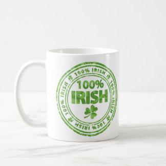 Irlandês de 100% caneca de café