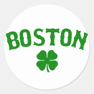 Irlandês de Boston Adesivo