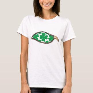 Irlandês dentro das camisetas engraçadas