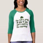 Irlandês engraçado do Dia de São Patrício Tshirts