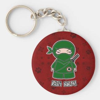 Irlandês Ninja! No chaveiro vermelho