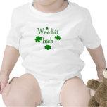 Irlandês pequenino do bocado macacãozinho para bebês