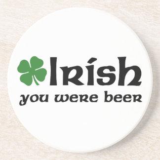 Irlandês você era portas copos da cerveja porta copos