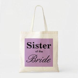 Irmã da lavanda roxa nupcial do bolsa da noiva