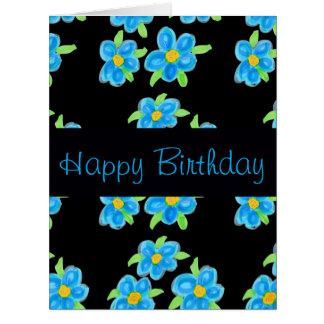 Irmã do feliz aniversario cartão comemorativo grande