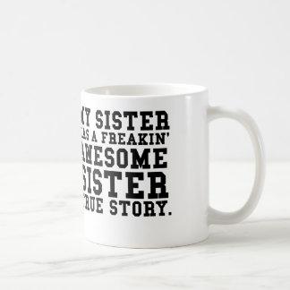 irmã impressionante caneca