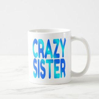 Irmã louca caneca de café