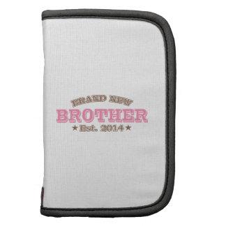 Irmão brandnew Est. 2014 (rosa) Agendas