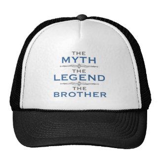 Irmão da legenda do mito boné