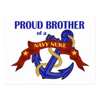 Irmão de umas armas nucleares do marinho cartão postal