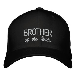 IRMÃO do chapéu da noiva Boné Bordado