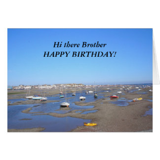 Irmão do feliz aniversario cartões