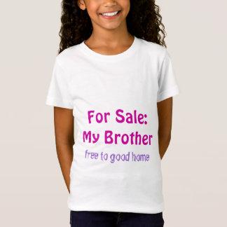 Irmão para o Tshirt da juventude da venda Camiseta