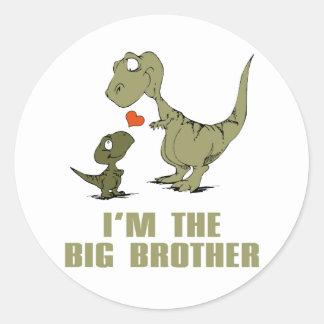 Irmãos do dinossauro adesivo