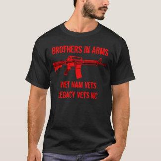 Irmãos em veterinários de Vietnam dos Camiseta