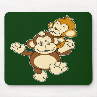 Irmãos Mousepad do macaco