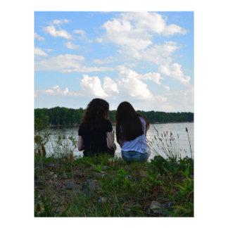 Irmãs/amigos Papel Timbrado