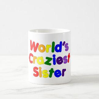 Irmãs engraçadas do divertimento: A irmã a mais lo Canecas