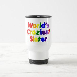 Irmãs engraçadas do divertimento A irmã a mais lo Caneca