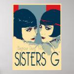 Irmãs G - poster da forma dos anos 20