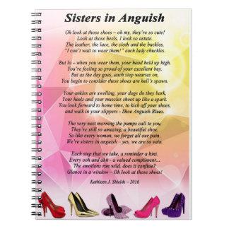 Irmãs no caderno do poema da angústia