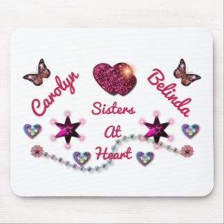 Irmãs no coração LYLAS Mouse Pad