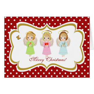 Irmãs pequenas do anjo, cartão