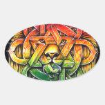 Iron Lion Zion - M1 Calcomanías De Ovales