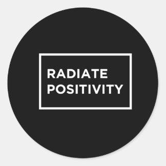 Irónico irradie a etiqueta da positividade R.I.P
