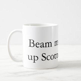 Irradie-me acima da caneca de café do Scottie