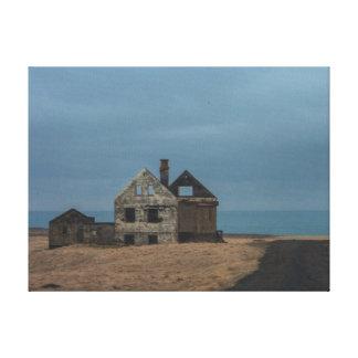 Islândia Landcape em canvas