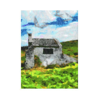 Isolamento Impressão Em Canvas