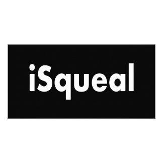 iSqueal Cartão Com Fotos