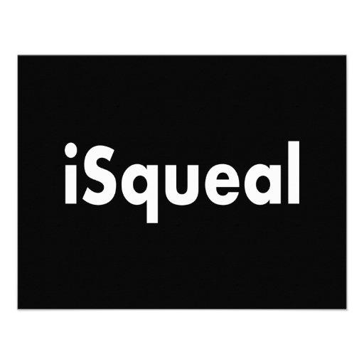 iSqueal Convites Personalizado