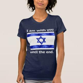 Israel eu sou com você até o final camiseta