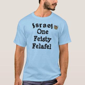 Israel o falafel resoluto camiseta