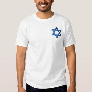 Israelita judaico Magen David da estrela de David Camisetas