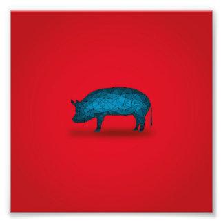 Isso fará o porco… impressão de foto