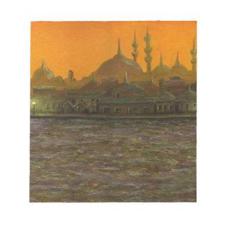 Istambul Türkiye/Turquia Caderno