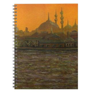 Istambul Türkiye/Turquia Cadernos Espiral