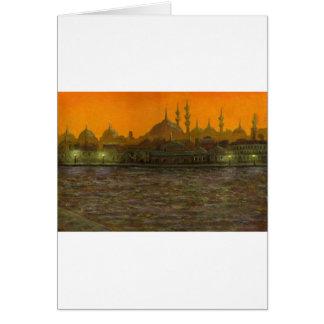 Istambul Türkiye/Turquia Cartão Comemorativo