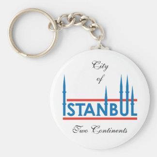 istanbul_logo, cidade de, dois continentes chaveiro