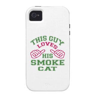 Isto ama seu gato do fumo