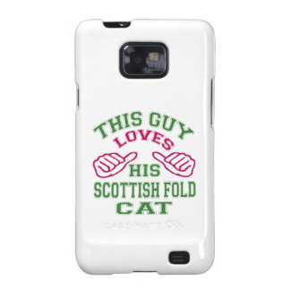 Isto ama seu gato escocês da dobra capa galaxy SII