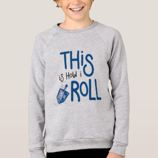 Isto é como eu rolo a camisa de Hanukkah