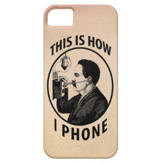 Isto é como eu telefono capas iPhone 5