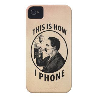 Isto é como eu telefono capinha iPhone 4